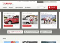 Website von Die Mobiliar