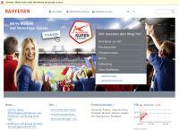 Website von Raiffeisen - Standort Davos Platz
