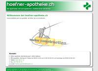 Website von Höfner Apotheke