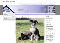 Website von Tierheim Strubeli
