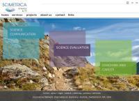 Website von Scimetrica GmbH