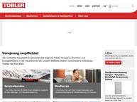 Website von Tobler Marché