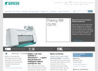 Website von Bühler AG - Trübbach