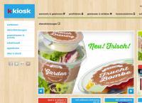 Website von Bahnhofkiosk