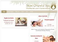 Website von Siam Oriental SPA
