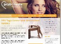 Website von Solarium Jetzt&heute, mein Sonnenstudio