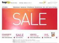Website von Toptip Zwingen