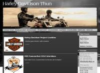 Website von Harley-Davidson Thun