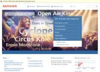 Website von Raiffeisen - Standort Romoos