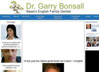 Website von Dr Garry Bonsall, Basel´s English-Swiss Dentist