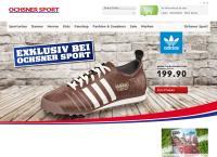 Website von Ochsner Sport - Stans
