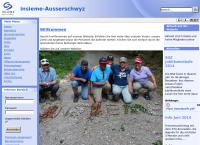 Website von Verein insieme Ausserschwyz
