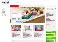 Website von vivacare AG