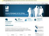 Website von Woodlake Consulting GmbH