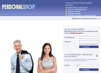 Website von Personalshop AG