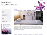 Website von body & soul