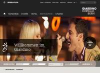Website von Restaurant Giardino