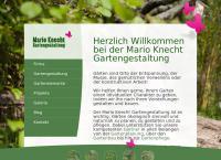 Website von Mario Knecht Gartengestaltung
