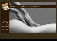 Website von zürich home massage