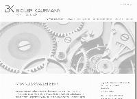 Website von Bigler Kaufmann Rechtsanwälte