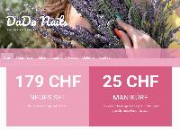 Website von DaDa Nails