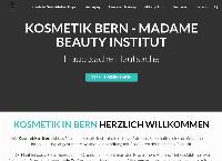 Website von Madame Beauty Institut