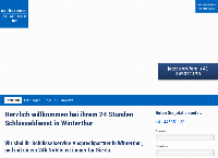 Website von 24h Schlüsseldienst Winterthur