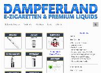 Website von Dampferland