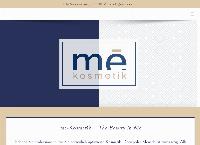 Website von Me Kosmetik