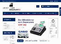 Website von Kassen Handel Discount