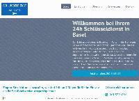 Website von Schlüsseldienst Profi Basel