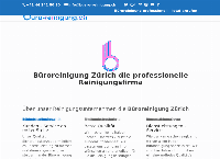 Website von Gebäudereinigung buero-reinigung.ch