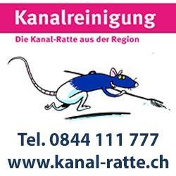 Kanal-Ratte.ch die schnellste, sauberste und preiswerteste Kanalreinigung der Schweiz!